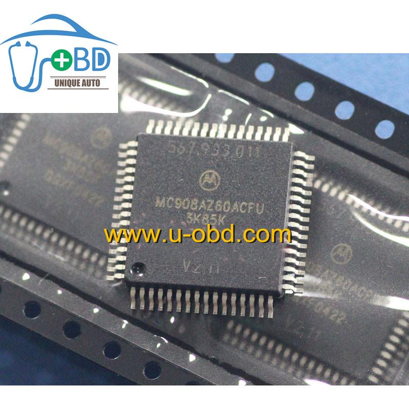 MC908AZ60ACFU 3K85K Commonly used CPU for automotive ECU