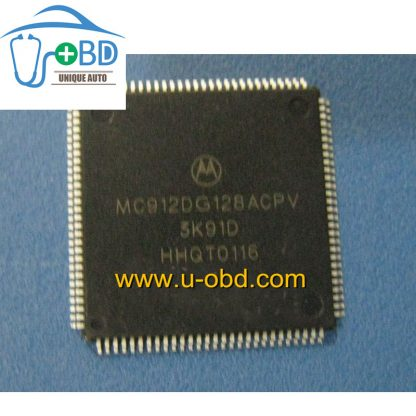 MC912DG128ACPV 3K91D Commonly used CPU for automotive ECU