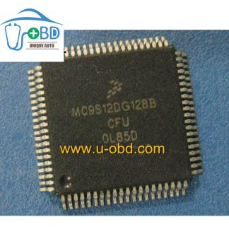 MC9S12DG128BCFU OL85D 0L85D Commonly used Automotive EIS EZS keys CPU