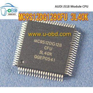 MC9S12DG128CFU 3L40K Audi A6 J518 module vulnerable CPU
