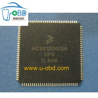 MC9S12DG128CPV 3L40K Commonly used CPU for autotive ECU