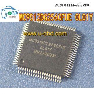 MC9S12DG256CFUE OL01Y Audi A6 J518 module vulnerable CPU