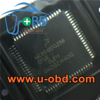 MC9S12DG256CFUE OL01Y AUDI J518 Module vulnerable MCU