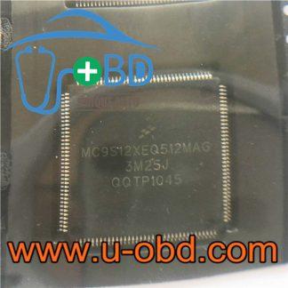 MC9S12XEQ512MAG 3M25J widely used ECU MCU chips