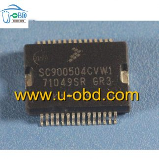 SC900504CVW1 71049SR GR3 Commonly used fuel injection driver chip for Automotive ECU