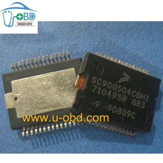 Commonly used fuel injection driver chips for Ford ECU