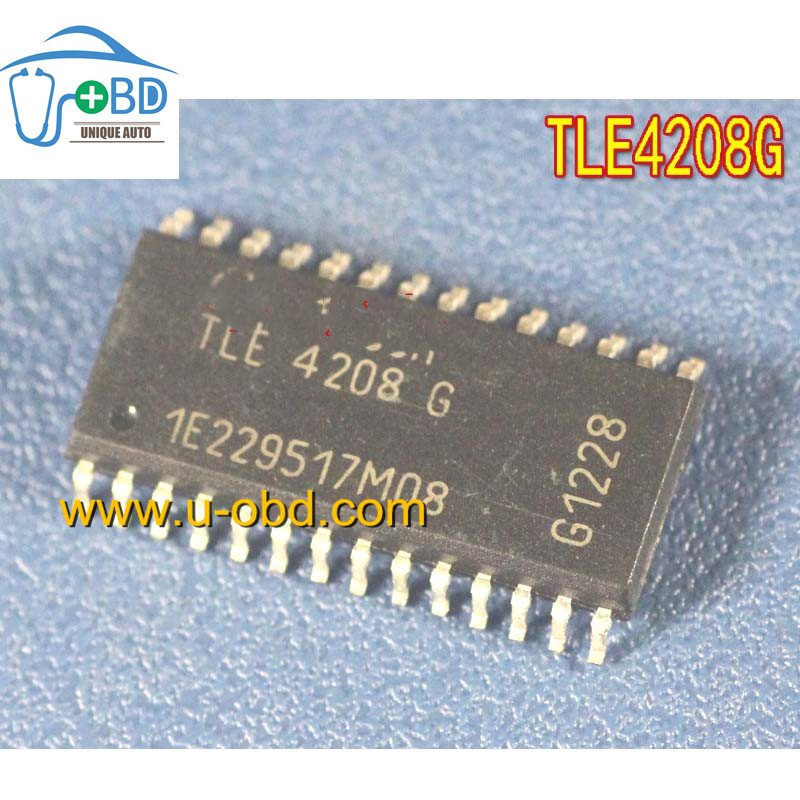 TLE4208G Commonly used idle throttle driver chip for Delphi ECU