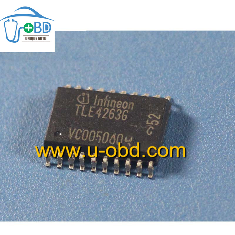 TLE4263G Commonly used ignition driver chips for automotive ECU