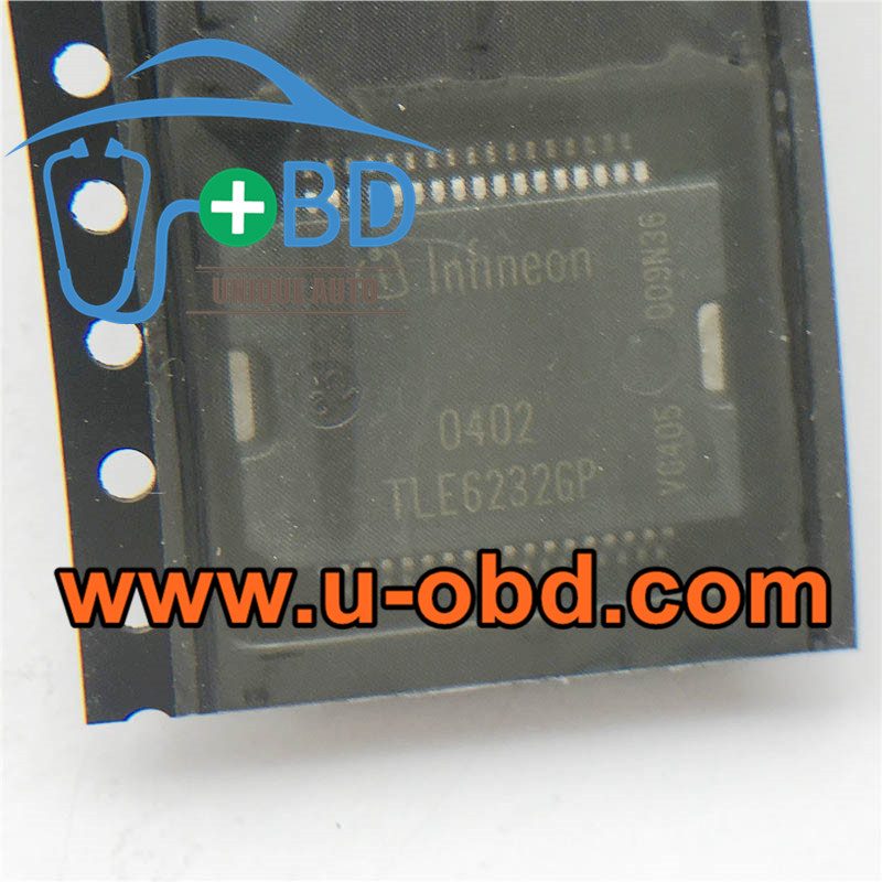 TLE6232GP BOSCH ECU fuel injection driver chips