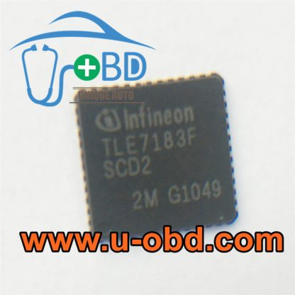 TLE7183F SCD2 BMW N55 DME valvetronic driver chips