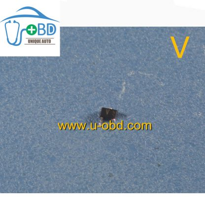 V Commonly used diode beside the X1 chip for Mitsubishi ECU