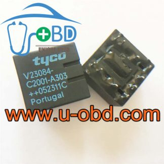 V23084-C2001-A303 BUICK central lock vulnerable relays