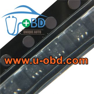 VF Audi A6 ECU vulnerable ignition driver chip
