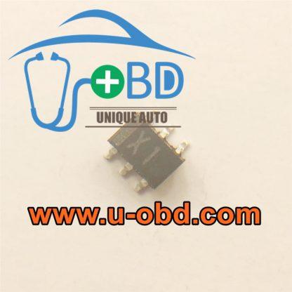 X1 Mitsubishi ECU ignition driver chips
