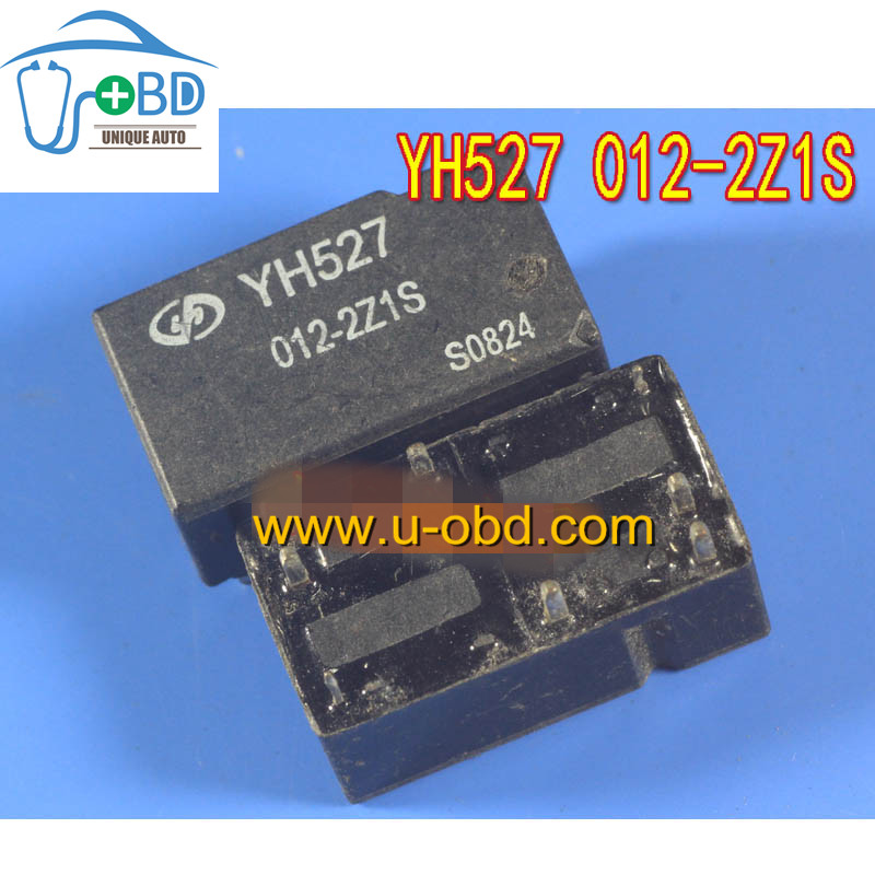 YH527 012-2Z1S Automotive commonly used relays 10 PIN