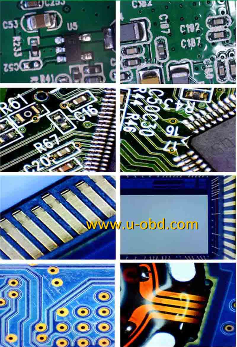 1-600 times magnifition circuit board repair high definition digital microscope with screen application