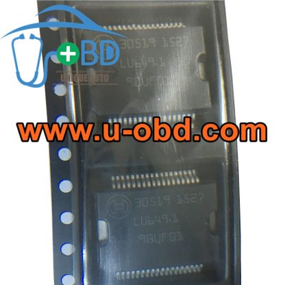 30519 BOSCH ECU commonly used vulnerable chips