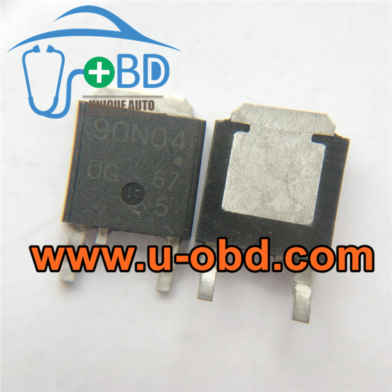 90N04 BMW DME Commonly used vulnerable driver chips