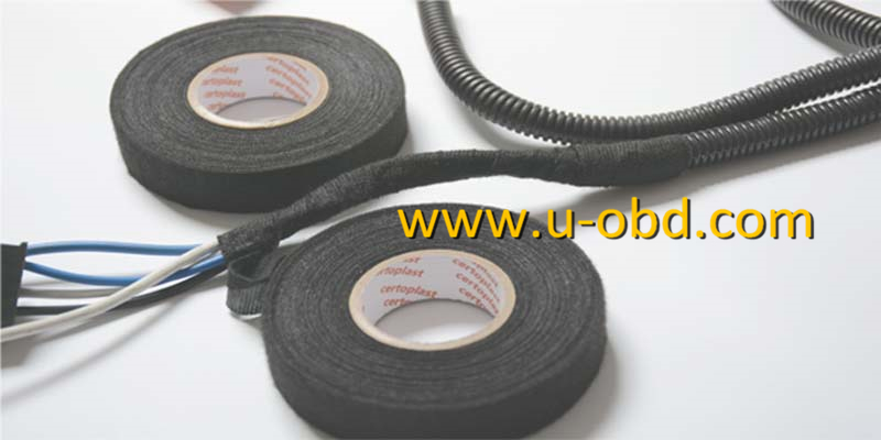 Automotive cables dedicated flame-retardant Flannelette tape thermostability tape