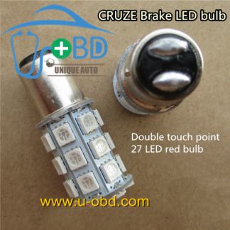Cruze dedicated brake light LED bulb 27 LED bulb