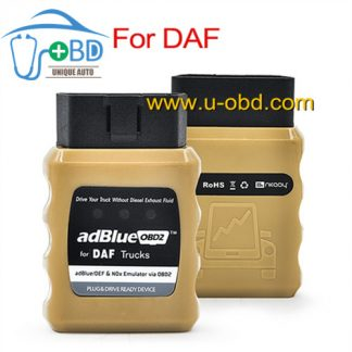 DAF Trucks Adblue Emulator via OBD2
