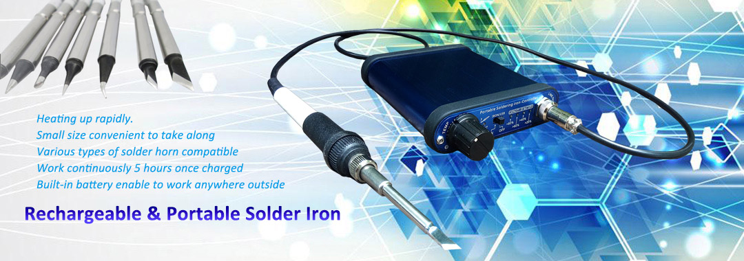 portable rechargeable solder iron