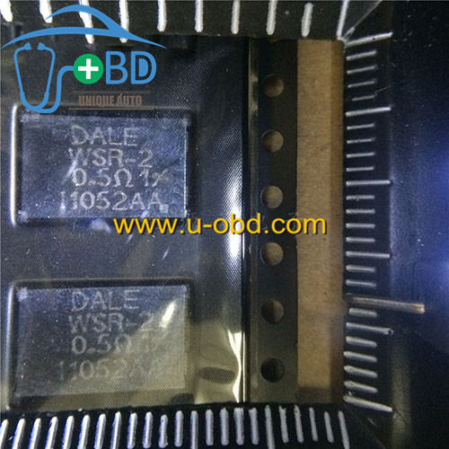 WSR-2 0.5 Widely used high power protection resistor for ECU
