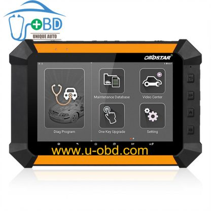 X 300 DP Auto Diagnostic Tool Immobilizer odometer ABSTPSSRS reset