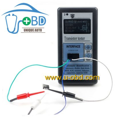 multifunction Transistor diode MOS SCR Inductor tester