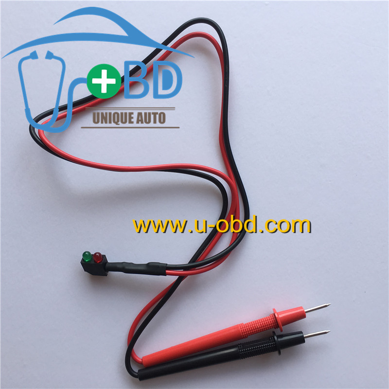 Automotive electric circuit pulse signal test tools fuel injection signal ignition signal