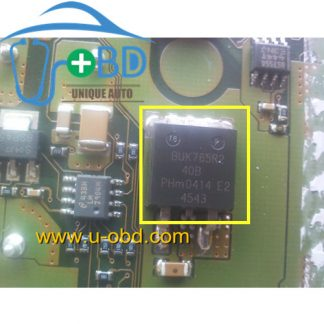 BUK765R2-40B Automotive ECU widely used SMD transistors