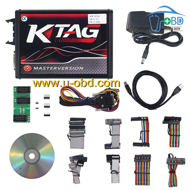 Best quality version KTAG V7 020 4 LED Master Version ECU programming chip  tuning tool