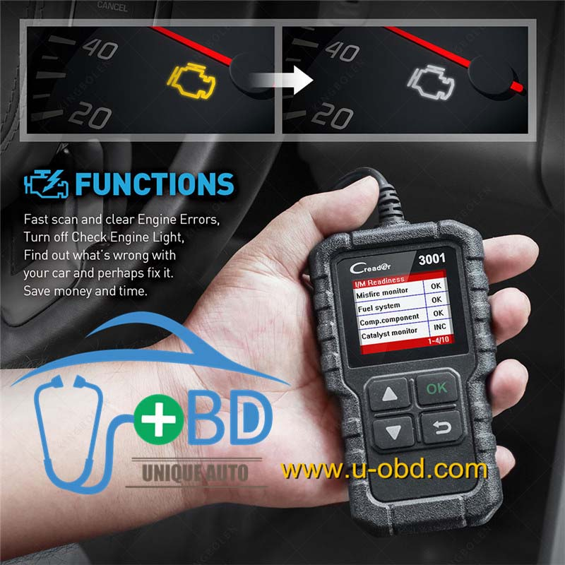 LAUNCH X431 CR3001 OBD Code Reader