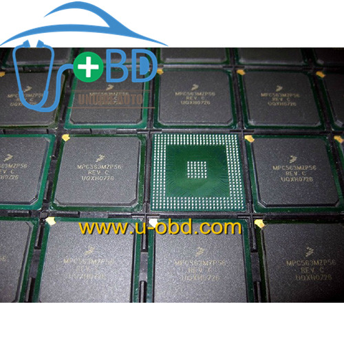 MPC563MZP56 Widely used vulnerable MCU chip for Bosch ECU