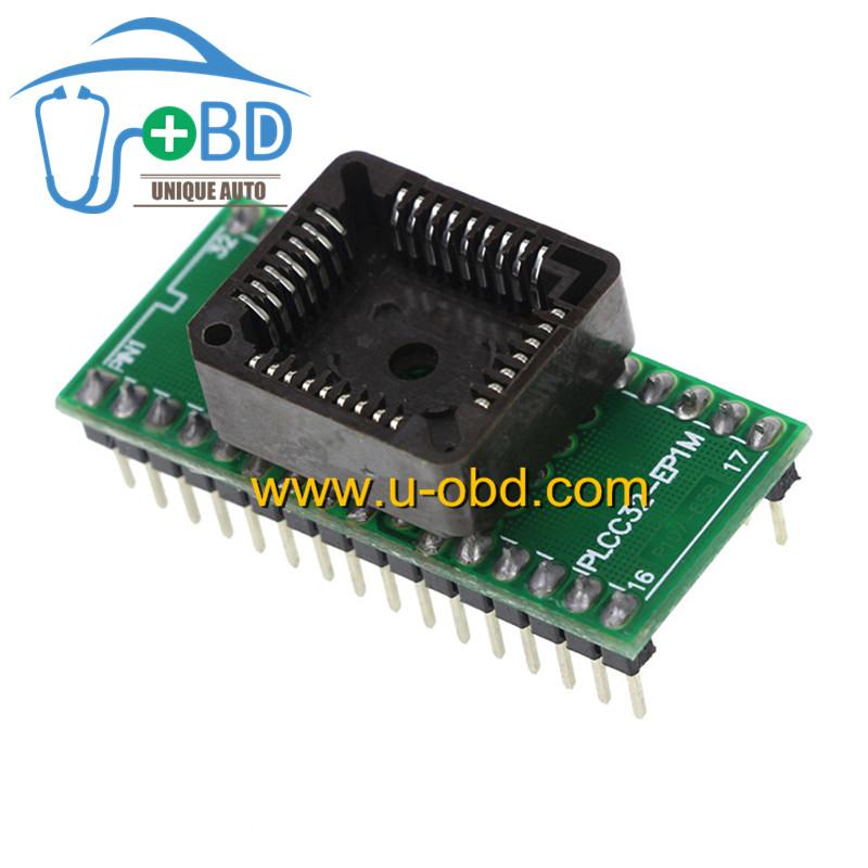PLCC32 packaging chip transfer to DIP32 socket