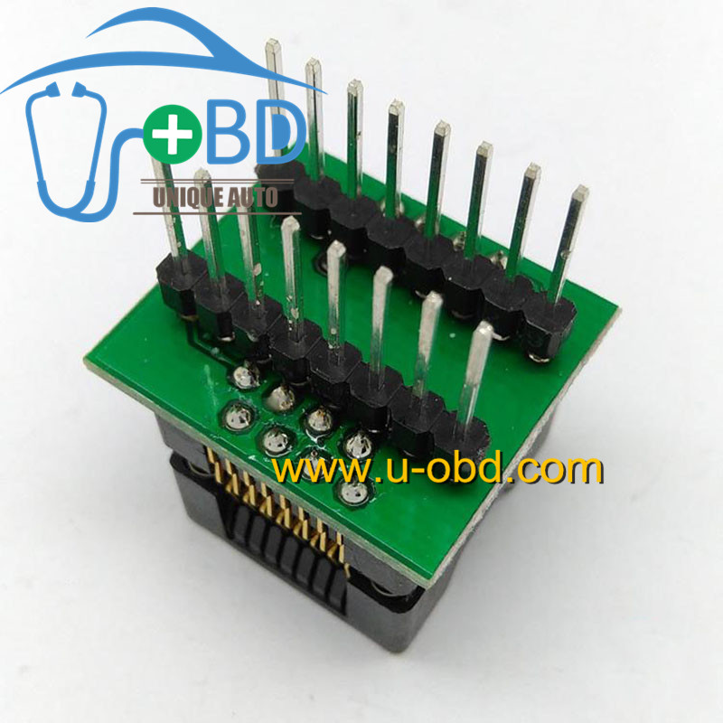 SOP16 switch to DIP16 programming socket adapter