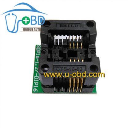 Soic8 automotive eeprom programming socket SOP8 adapter