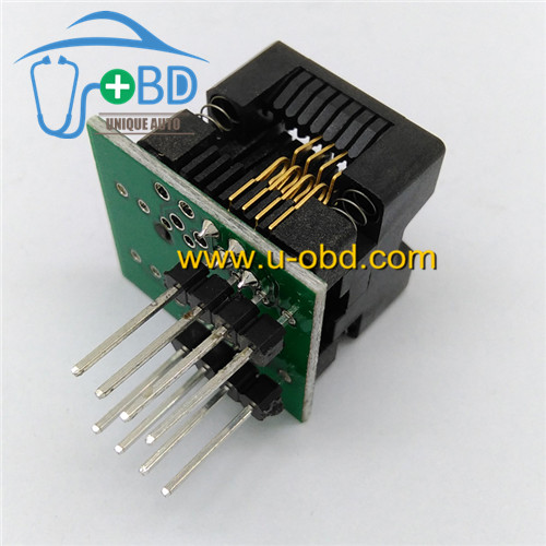 Soic8 automotive eeprom reading and writing socket SOP8 socket