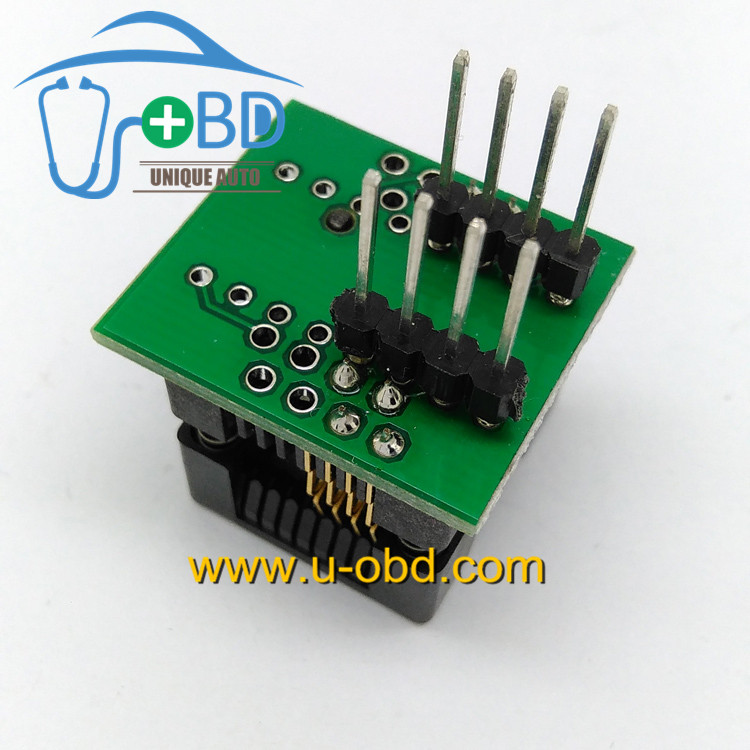 Soic8 to DIP8 automotive eeprom programming socket SOP8 adapter