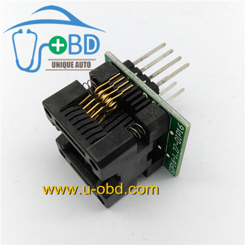 Soic8 to DIP8 automotive eeprom reading and writing socket SOP8 adapter