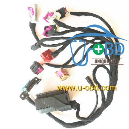 AUDI A4 Q5 key duplicate remote programming harness test platform cables