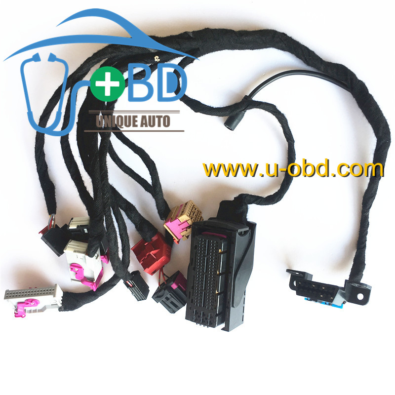 AUDI A4 Q5 key programming cables harness duplicate key on the bench