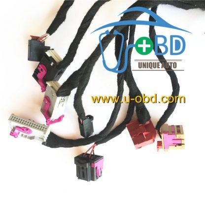 AUDI A4 Q5 remote key duplicate key making cables