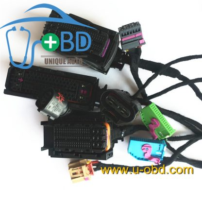 AUDI A8 A6 test platform key duplicate cable harness