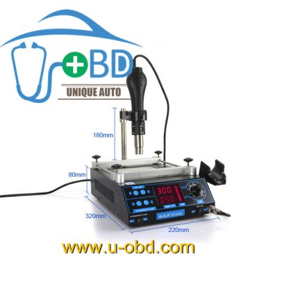 BGA rework station hot air gun BAG soldering station