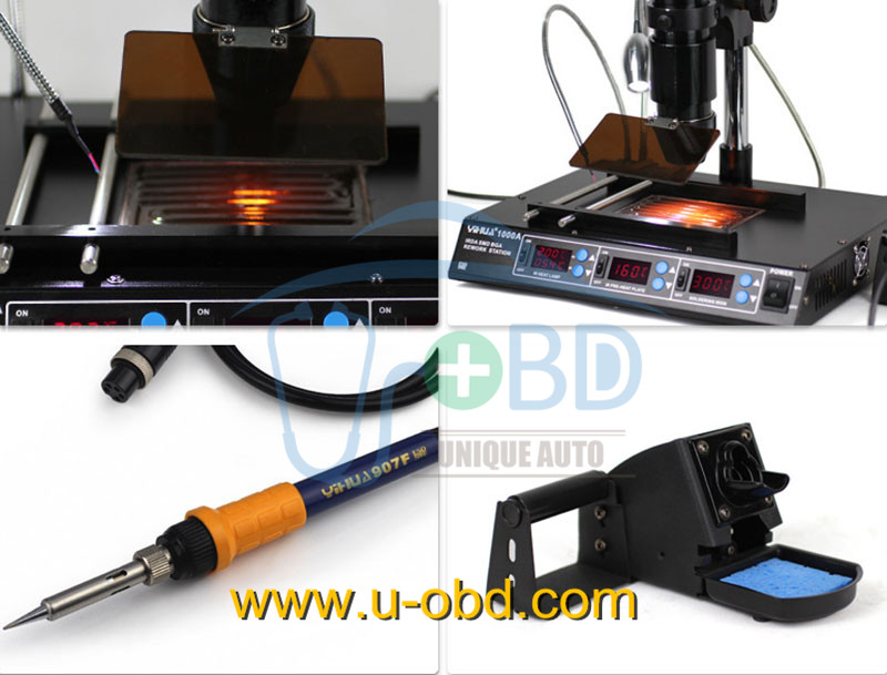 BGA rework station infrared heater BGA soldering station