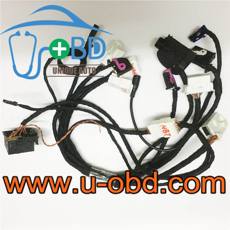 BMW CAS4 Test platform key adaption harness NBT Cables