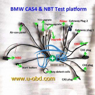 BMW CAS4 and NBT test platform