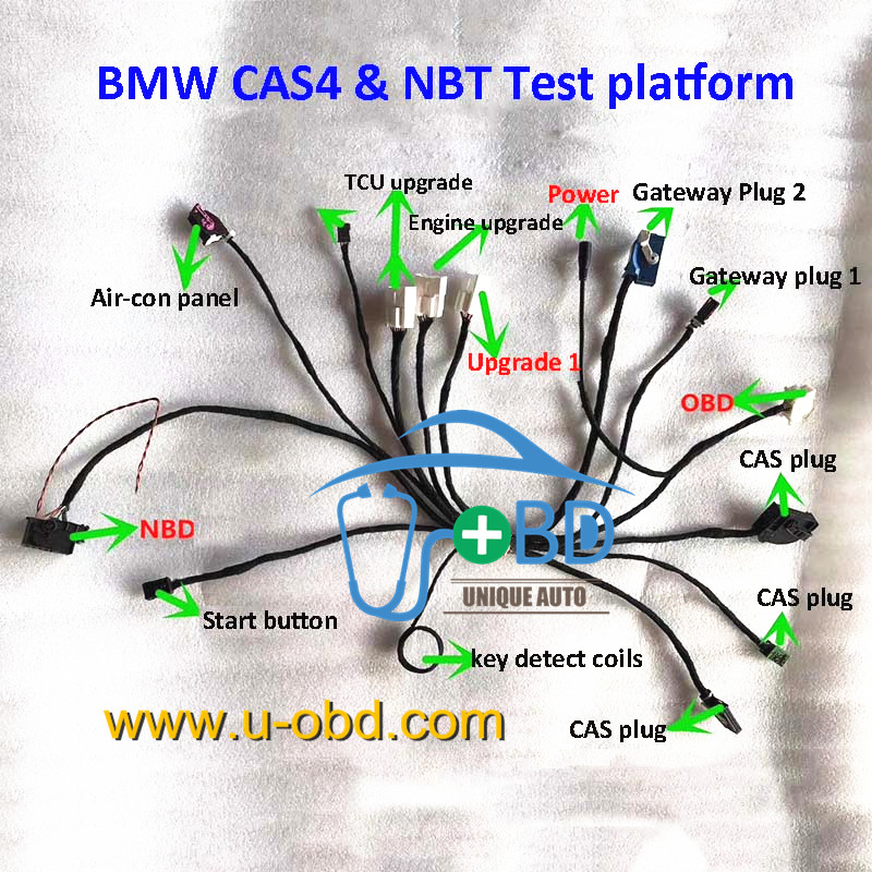 BMW CAS4 and NBT test platform