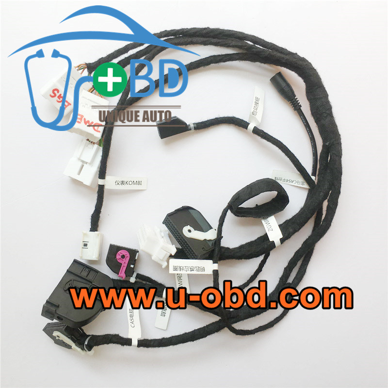 BMW CAS4 key programming harness test platform cable
